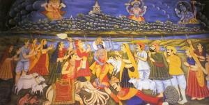 Krishna Supports Everything