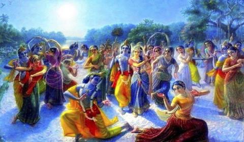 Krishnas Pastimes