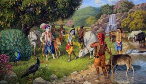 Meditate on Krishnas Name, Form and Pastimes