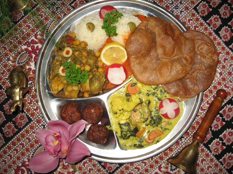 Prasadam is incredibly tasty