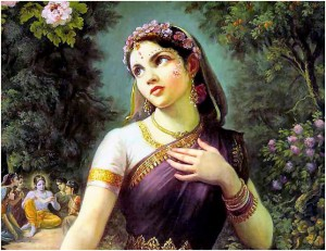 Srimati Radharani The Queen Of Vrindavan
