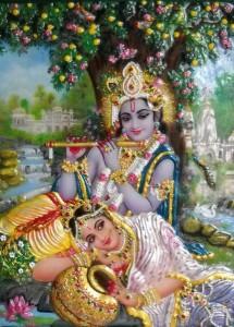 Kana, Krishna, Lord of Radha