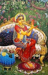 radha_and_parrot