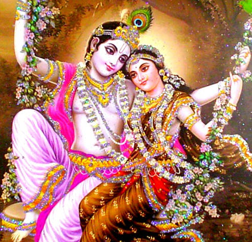 Radha-Krishna-together-overwhelms-Vrndavana-in-ecstatic-love