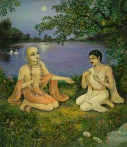 Lord Caitanya Mahaprabhu and Sri Ramananda Ray