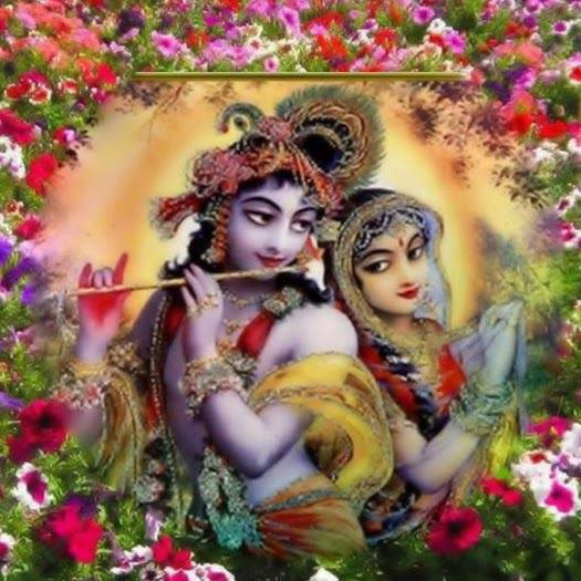 Medite Upon Radha and Krishna The Absolute Truth Whilst Chanting.