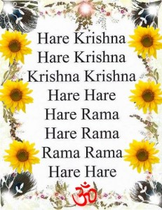 The Famous Hare Krishna Maha Mantra