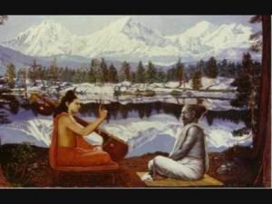Narada Muni Instructs Veda Vyasa