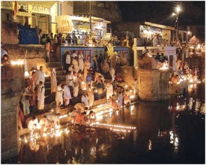 Manasi Ganga in Govardhan