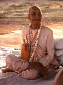 The author. Srila Bhaktivedanta Swami Prabhupada