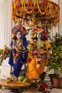 Krishna (right) and Balarama